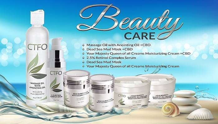 CTFO Beauty Care Products with CBD