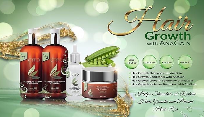 CTFO CBD Hair Growth Products