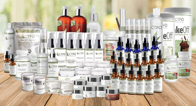 CTFO Full Product Line CBD and Non CBD