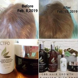 CTFO Hair Growth Anagain CBD