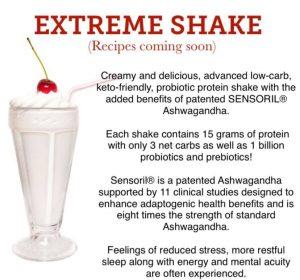 Extreme Shake - infographic