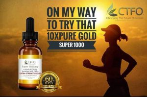 10xPURE Gold Enriched with CBDa