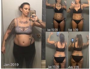 Keto Creamer Before & After Pics