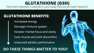 List of Glutathione Benefits