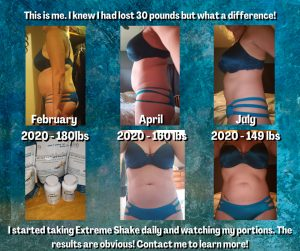 Extreme Shake Weight Loss Before After Pics