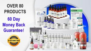 60 day money back guarantee over 80 products