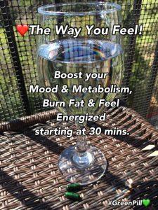 Take Green Pill and Burn Fat